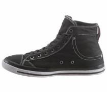 'Exposure I' Sneakers black denim