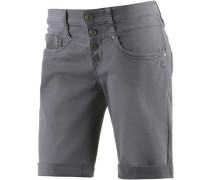 Jeansshorts Damen grey denim