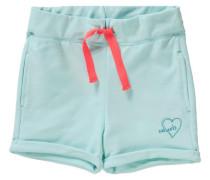 Shorts für Mädchen UV-Schutz 30+ türkis