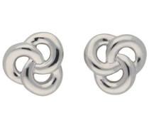 Paar Ohrstecker »Knoten« silber