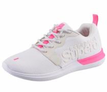 Sneaker neonpink / weiß
