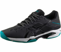 Tennisschuhe 'gel-Solution Speed 3 Clay' schwarz