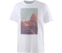 'sunset SS' T-Shirt Herren weiß