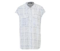 Ärmellose Bluse 'Zoya' weiß / mischfarben