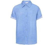 Kurzarmhemd 'nitfeps' himmelblau / blaumeliert