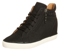 Sneaker Wedge 'Star' schwarz