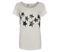 Print Shirt weiß