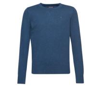 Pullover 'ame' mit Cashmere-Anteil taubenblau