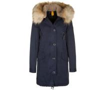 Parka 'Aspen Fake Fur' blau