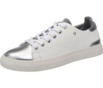 Market Sneakers silber / weiß
