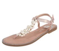 Zehentrenner-Sandale rosa