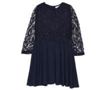 Kleid mit langen Ärmeln nitwolda blau