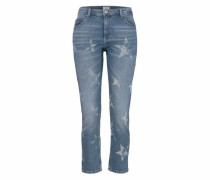 Straight-Jeans »Lana« blue denim