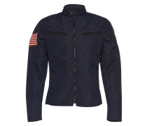 Jacke mit Flaggen-Print 'Motorcycle-Unlined-Jacket' navy