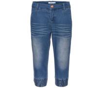 Baggy-Jeans-Shorts 'nitbacenna' blau