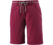 'pavlova' Shorts Damen weinrot