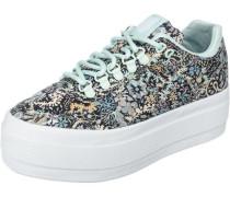 Sneakers 'Gstaad Platform Liberty' azur / mischfarben / schwarz