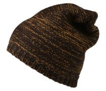 Mütze 'Javi' senf / schwarz