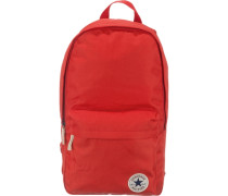 Core Poly Rucksack rot