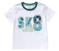 Baby T-Shirt für Jungen blau / grün / orange / weiß