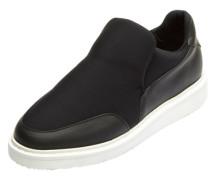 Slipper-Sneaker schwarz