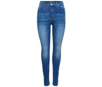 Piper highwaist Skinny Fit Jeans blau