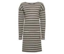 Kleid 'G Dress knit ls Hinsdale' grau