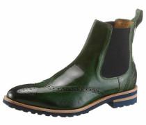 Chelseaboots marine / hellbraun / grün / schwarz