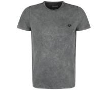T-Shirt 'batik' grau