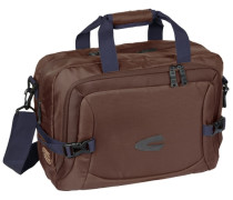 Highway Messenger 43 cm Laptopfach blau / braun