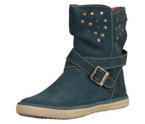 Stiefel beige / pastellblau