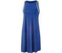 Trägerkleid Damen blau / weiß