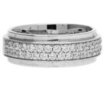Damen Fingerring Silber Modern Shape 'esrg92374A' silber