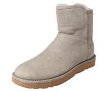 Boots mit Zipper 'Abree Mini' grau