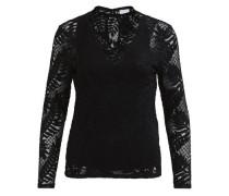 Feminine Bluse schwarz