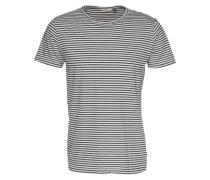 'T-Shirt' grau / schwarz
