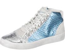 Sneaker blau / weiß
