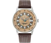 Armbanduhr »5416802« braun