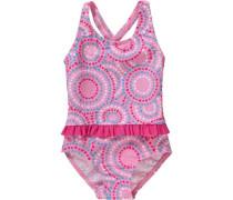 Baby Badeanzug mit UV-Schutz pink