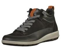 Sneaker hellbeige / schwarz
