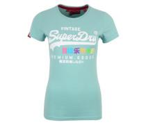 T-Shirt 'Premium Goods Rainbow' weiß