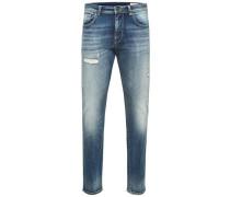 Slim-Fit Jeans blue denim