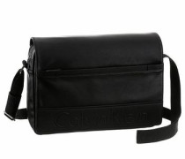 Messenger Bag 'bennet Messenger With Flap' schwarz