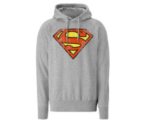 "Kapuzen-Sweatshirt ""Superman"" grau"
