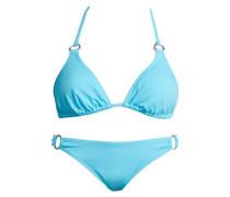 Triangel-Bikini aqua