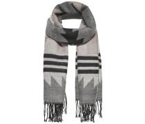 Bedruckter Schal grau
