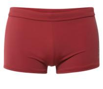 Boxer-Badehose rubinrot / karminrot