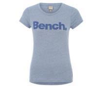 Printshirt 'Synchronization' blau