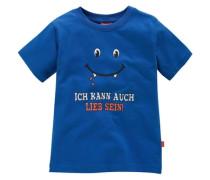 """T-Shirt """"Ich kann auch lieb sein!"""" blau"""