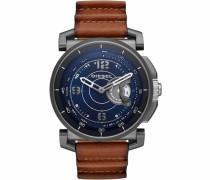 Advanced Dzt1003 Smartwatch ( Android Wear) blau / braun
